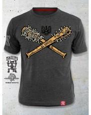 Купить Футболка Бейсбол Melange Grey PEKLO.TOYS в интернет-магазине Каптерка в Киеве и Украине