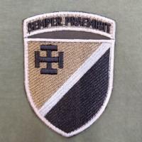 Шеврон 131 ОРБ Польовий Semper Praemisit (Завжди Попереду) Варіант