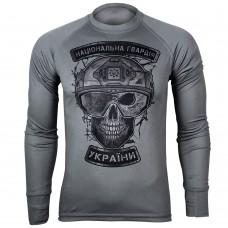 Реглан Coolmax НГУ Національна Гвардія України (сірий)