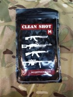 Серветки для чистки зброї Clean Shot 10 шт.