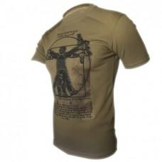 Футболка Coolmax Da Vinci-soldier (койот)