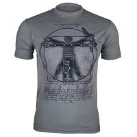Футболка Coolmax Da Vinci-soldier (сіра)