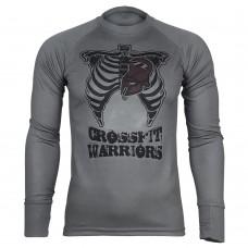 Реглан Coolmax Crossfit Warriors (сірий)