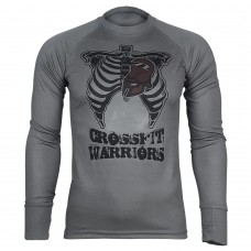 Реглан Coolmax Crossfit Warriors (сірий)