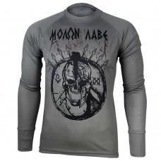 Реглан Coolmax Molon Labe (сірий)