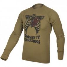 Купить Реглан Coolmax Crossfit Warriors (койот) в интернет-магазине Каптерка в Киеве и Украине