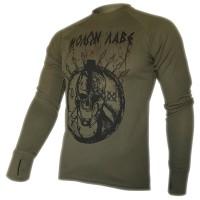 Реглан Coolmax Molon Labe (олива)