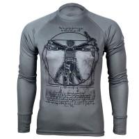 Реглан Coolmax Da VINCI – SOLDIER (сірий)
