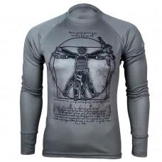 Купить Реглан Coolmax Da VINCI – SOLDIER (сірий) в интернет-магазине Каптерка в Киеве и Украине