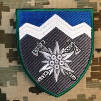 Нарукавний знак 10 окрема гірсько-штурмова бригада