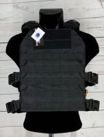 Чохол бронежилета Barret V1 Black 1000D Cordura