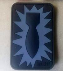 Купить PVC патч BOMB EOD Grey в интернет-магазине Каптерка в Киеве и Украине