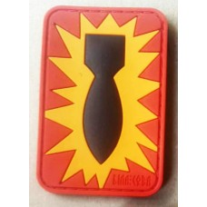 PVC патч BOMB EOD Red