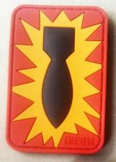 Купить PVC патч BOMB EOD Red в интернет-магазине Каптерка в Киеве и Украине