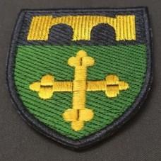 Нарукавний знак 91-й окремий полк оперативного забезпечення (кольоровий)