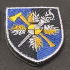 Нарукавний знак Об'єднаного навчально-тренувального центру Сил підтримки ЗСУ (кольоровий)