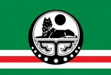 Прапор Ічкерії (великий білий знак)