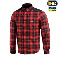 СОРОЧКА REDNECK SHIRT RED/BLACK M-TAC