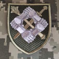 Нарукавний знак Командування сил підтримки Збройних Сил України (польовий)