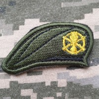 Нашивка берет Піхота ЗСУ