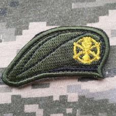 Купить Нашивка берет Піхота ЗСУ в интернет-магазине Каптерка в Киеве и Украине