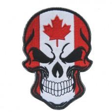Нашивка прапор Канади (череп)
