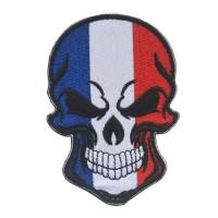 Нашивка прапор Франції (череп)