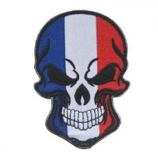 Купить Нашивка прапор Франції (череп) в интернет-магазине Каптерка в Киеве и Украине