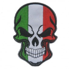 Нашивка прапор Італії (череп)