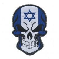 Нашивка прапор Ізраїлю (череп)