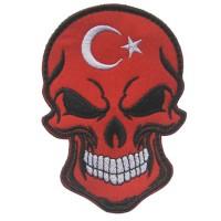 Нашивка прапор Туреччини (череп)