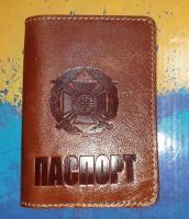 Обкладинка Паспорт Сухопутні Війська ЗСУ (руда лакова)