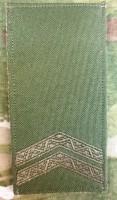Погон Молодший Сержант олива Згідно Наказу 606 без обшивки