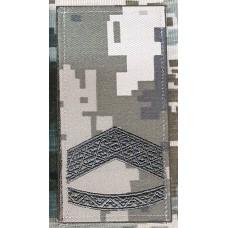 Погон Прапорщик ММ14 Згідно Наказу 606 без обшивки
