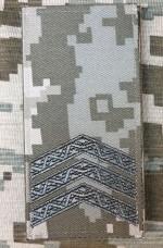 Купить Погон Сержант ММ14 Згідно Наказу 606 без обшивки в интернет-магазине Каптерка в Киеве и Украине