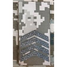 Погон Старший Сержант ММ14 Згідно Наказу 606 без обшивки