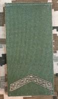 Погон Старший солдат колір олива Згідно Наказу 606 без обшивки