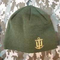 Шапка з вишивкою ВМСУ