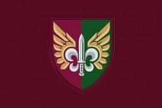 Прапор 132 Окремий Розвідувальний Батальйон ДШВ (знак)