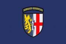 Прапор 1а Галицько-Волинська радіотехнічна бригада (синій)