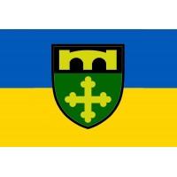 Прапор 91 Охтирський окремий полк оперативного забезпечення