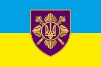 Прапор Окремий президентський полк ім. гетьмана Богдана Хмельницького