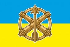 Купить Прапор з знаком ППО-ЗРВ  в интернет-магазине Каптерка в Киеве и Украине