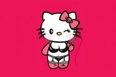 Купить Прапор Sexy Kitty в интернет-магазине Каптерка в Киеве и Украине