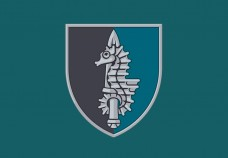 Прапор 73 морський центр спеціального призначення ССО з новим знаком