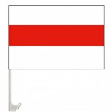 Автомобільний прапор Білорусі біло-червоно-білий