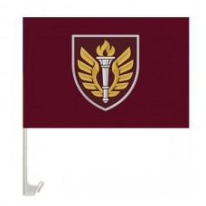 Автомобільний прапорець 199 Навчальний Центр ДШВ (марун)