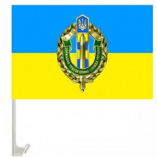 Автомобільний прапорець з значком ДПСУ