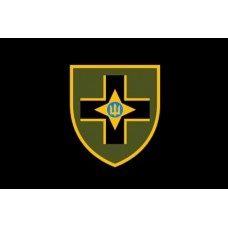 Прапор 28 ОМБр імені Лицарів Зимового Походу (чорний)
