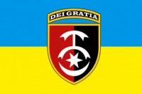 Прапор 30 ОМБр (український) Без написів